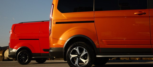 Ford Tourneo Custom Trail in Custom Active: na slovenskem trgu