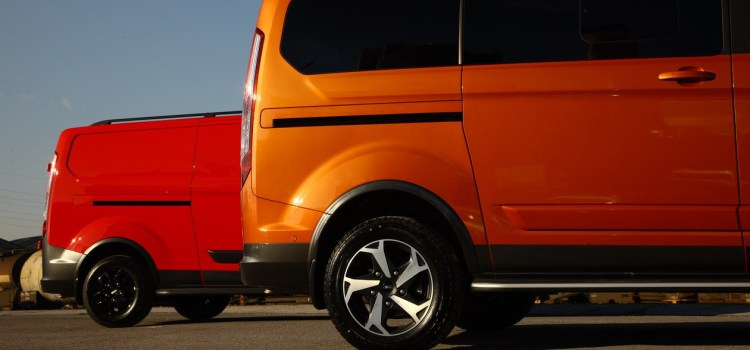 Ford Tourneo Custom Trail in Custom Active: na slovenskem trgu