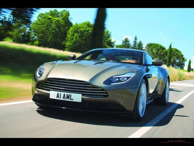 Aston Martin DB11 - britanski tradicionalizem