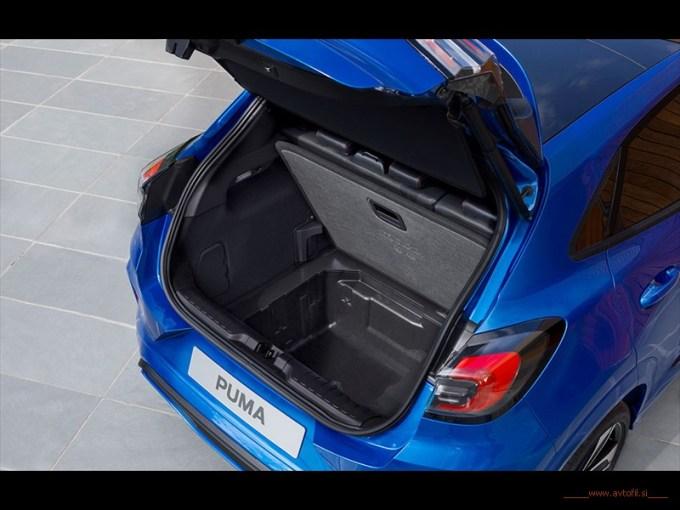 Ford Puma_najvecji prtljazni prostor v segmentu_MegaBox