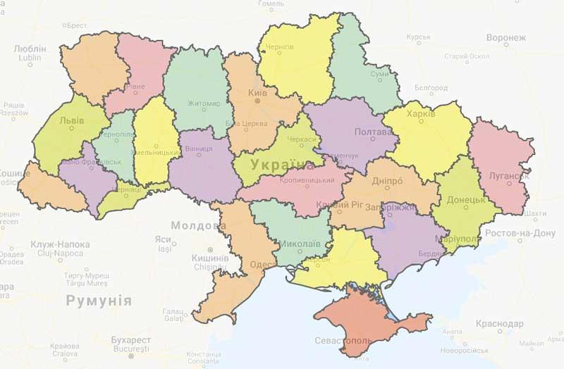 Укравтодор создал онлайн-карту ремонта дорог