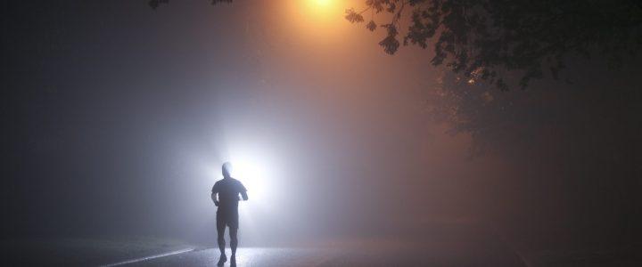 Hardlopen in het donker?