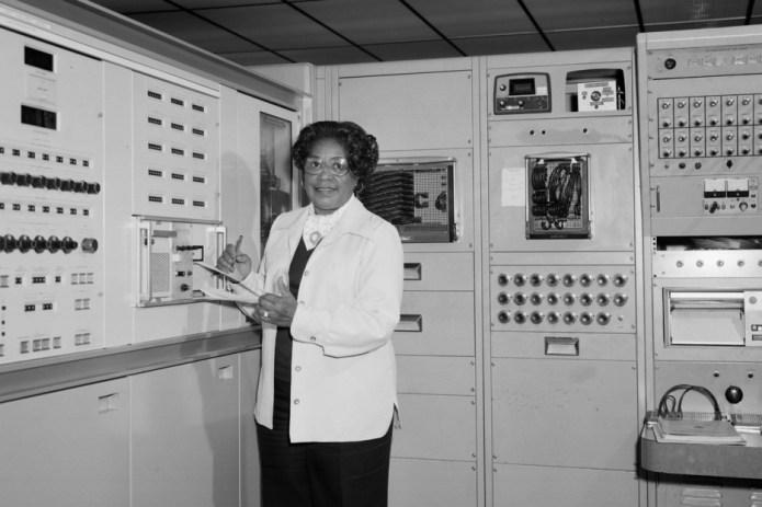 Mathematics Mary Winston Jackson at NASA in 1985