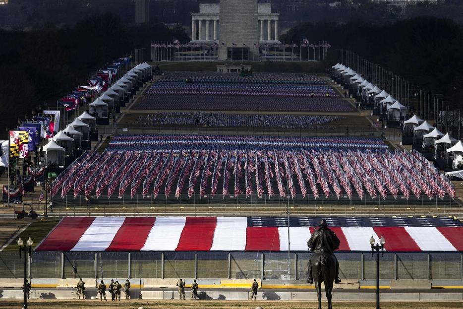 Tutto pronto per il giuramento di Joe Biden, 46° presidente degli Stati Uniti d'America