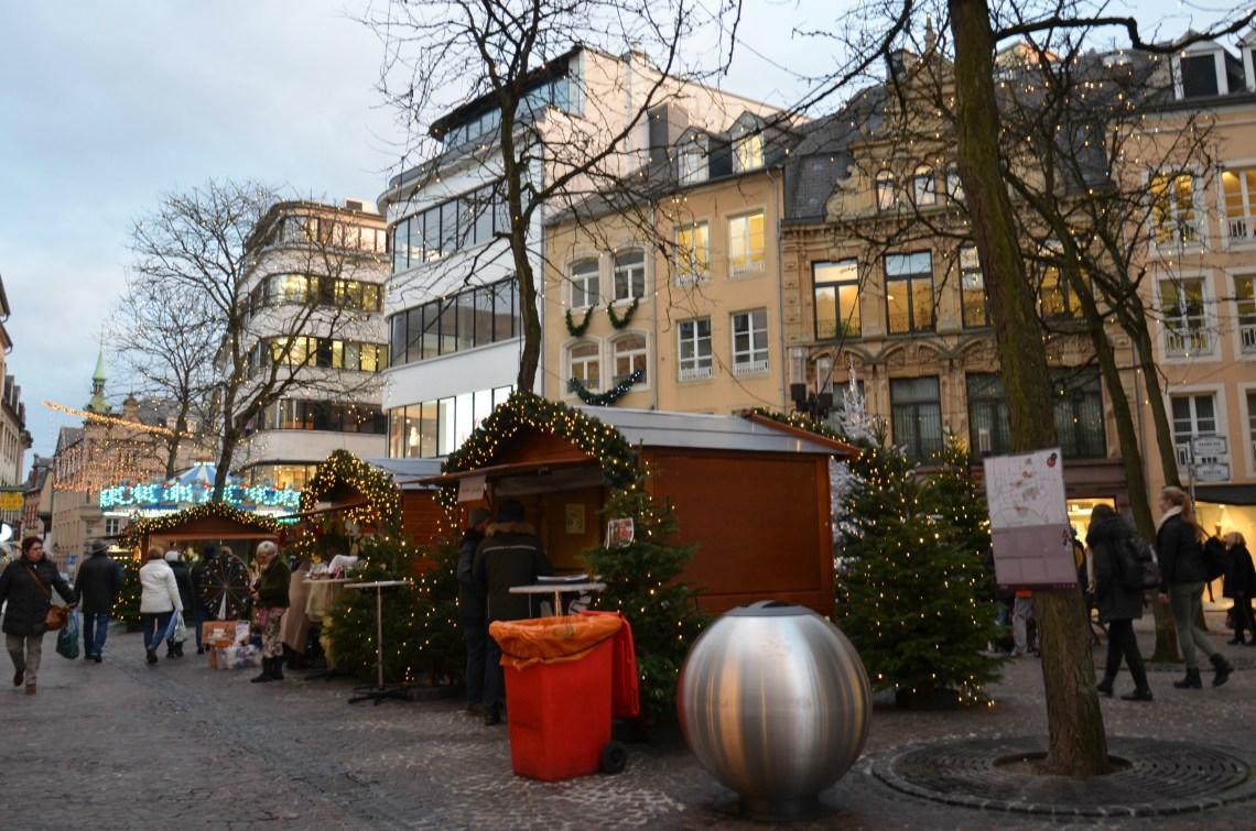 mercatini di Natale sulla Grand Rue