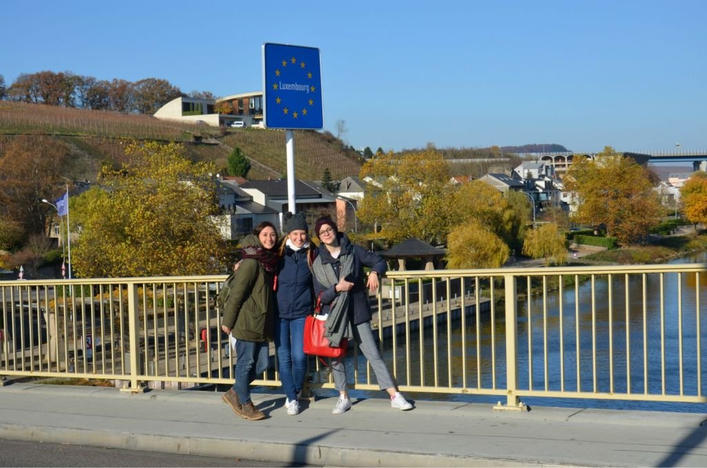 Erasmus gita a Schengen