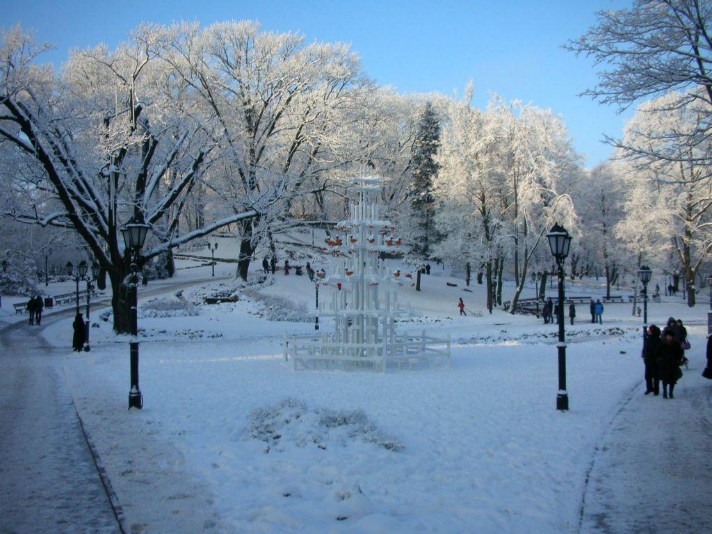 Erasmus a Riga in inverno