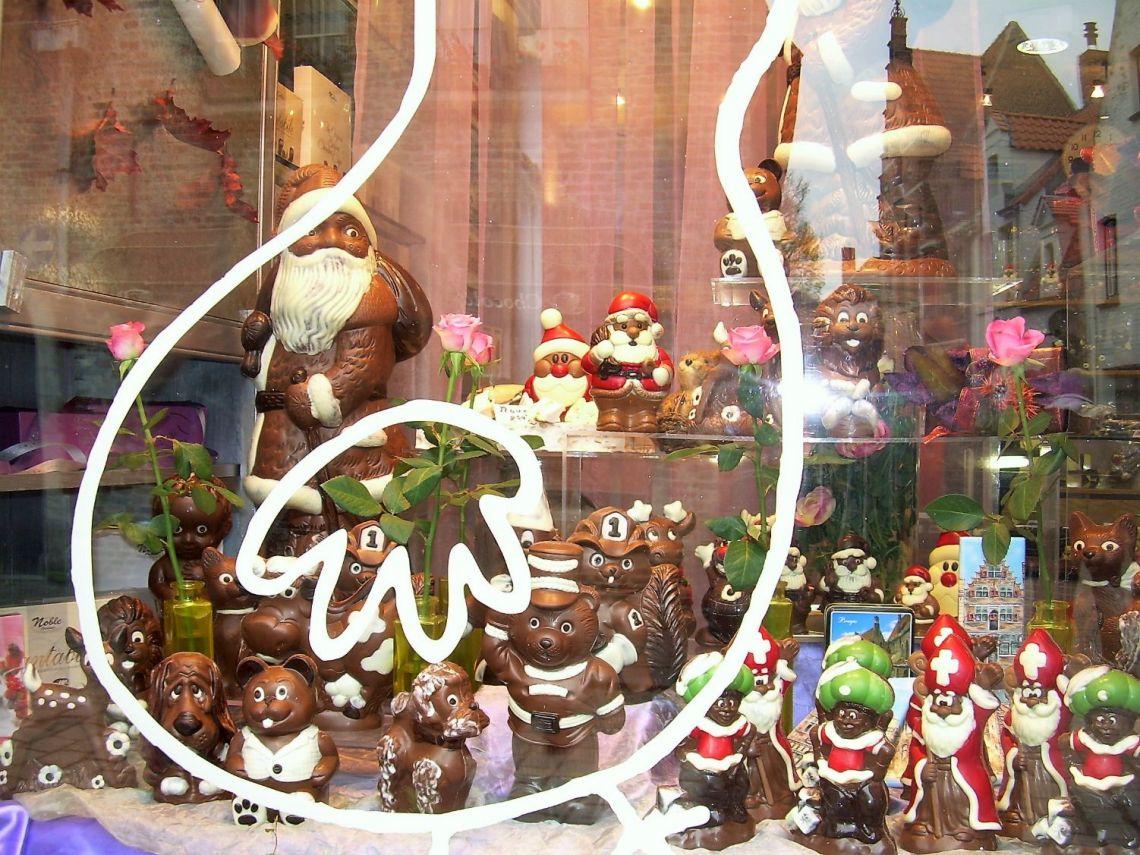 Il famoso cioccolato belga a Bruges
