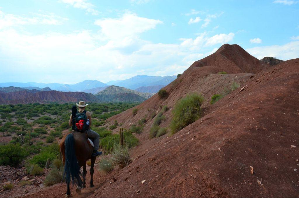 Escursione a cavallo - Bolivia