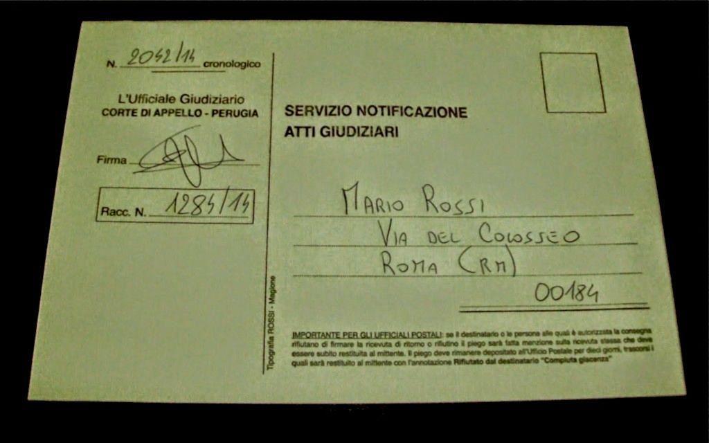 Ufficio Notifiche A Roma : Notifiche a mezzo posta le modifiche previste dalla legge di