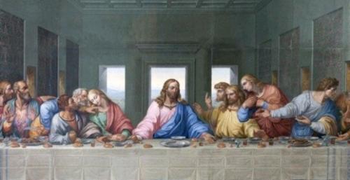 Giovedí Santo , la cena del Signore