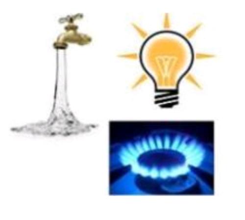 Blocco ai distacchi luce gas ed acqua