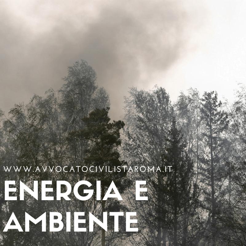 Avvocato Energia e Ambiente