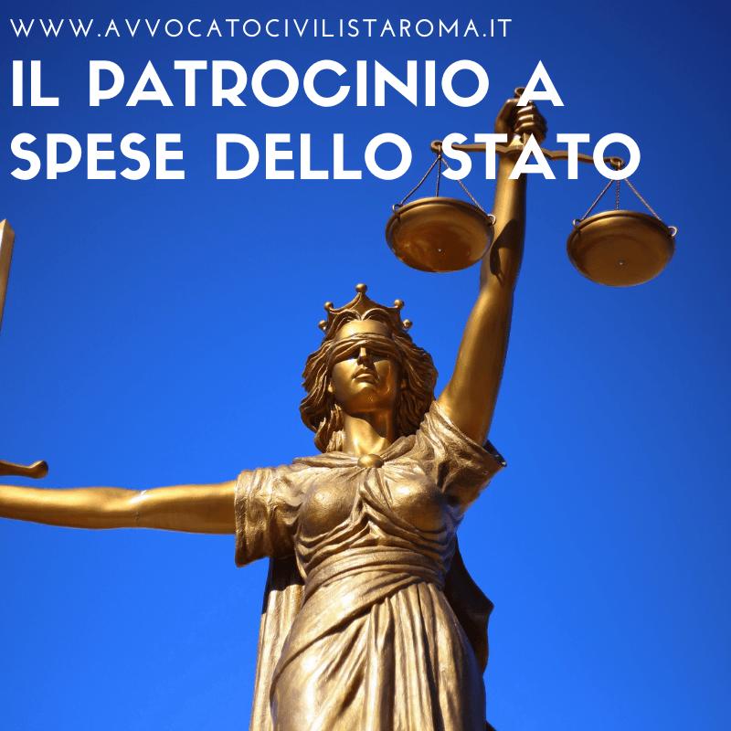 AVVOCATO PATROCINIO SPESE STATO ROMA