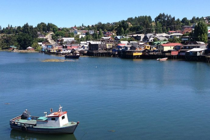 Palafitos on Chiloe