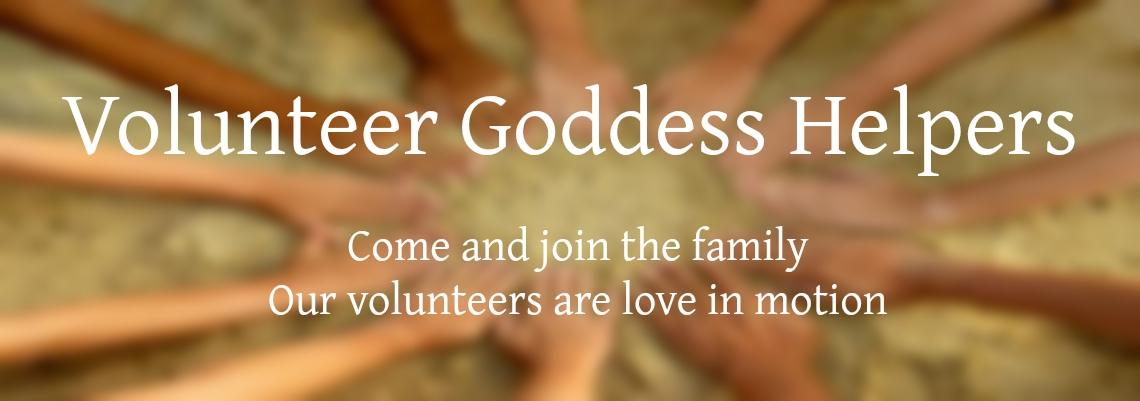 Volunteer at Awaken the Goddess