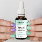 Frankincense | Brightening | Natural Vegan Face Serum Awake Organics | Nail Polish Image