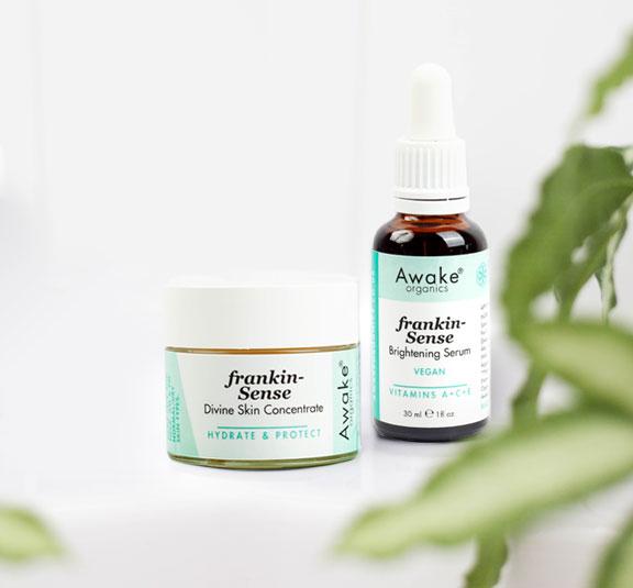 Frankin-Sense Divine Concentrate   Brightening Vitamin C Serum   Duo   Beauty Routine   Main Image   Frankincense