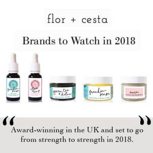 Flor + Cesta Press. As Seen in Vegetarian Living Magazine. Best of British. Melissa Kimbell. Ethical Beauty Brand skin care and natural deodorant That Works. Organic. Aromatherapy. By Awake Organics. Press. Brands to watch in 2018.