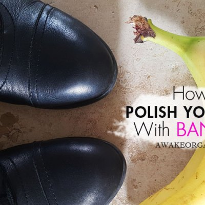 DIY Bonkers Banana Boot Polish (Video)