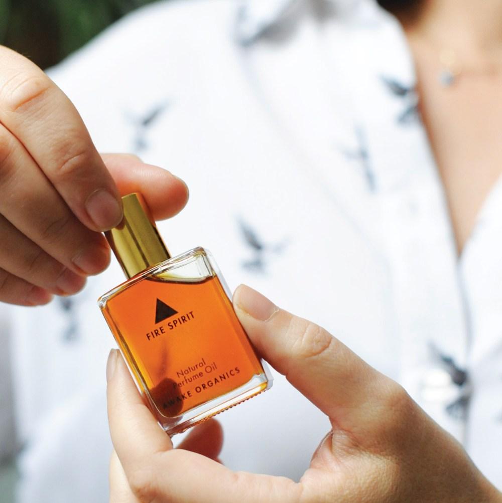 Natural Perfume Oils | Vegan | Fragrance Layers | Fire Spirit | rollerball perfume | Awake Organics