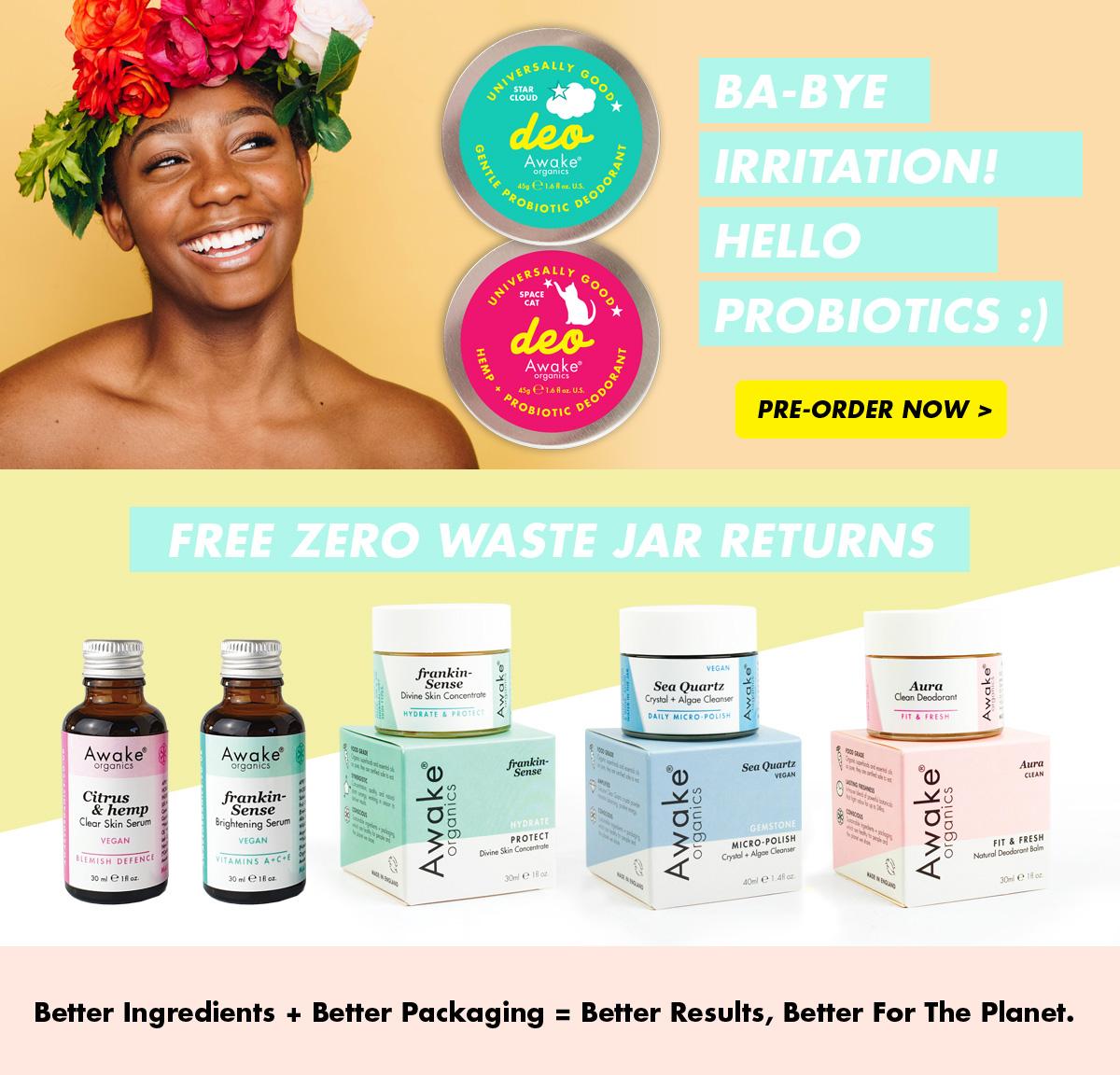 Natural Deodorant for sensitive skin | plastic free | zero waste UK | vegan | Main Image