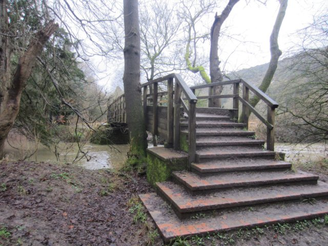 Stepping Stones footbridge