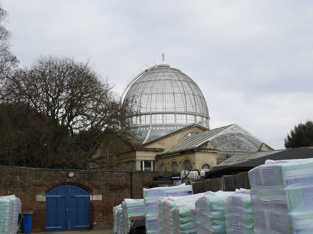 Syon House - seen through the garden centre!