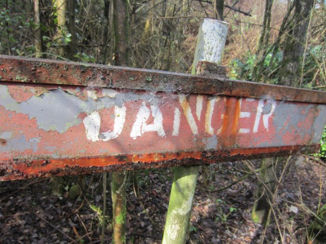 Danger from the quarry