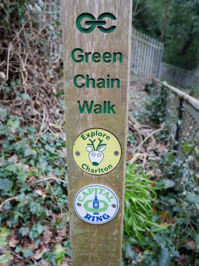Capital ring and green chain walk