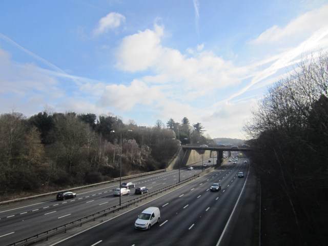 Our first view of the M25
