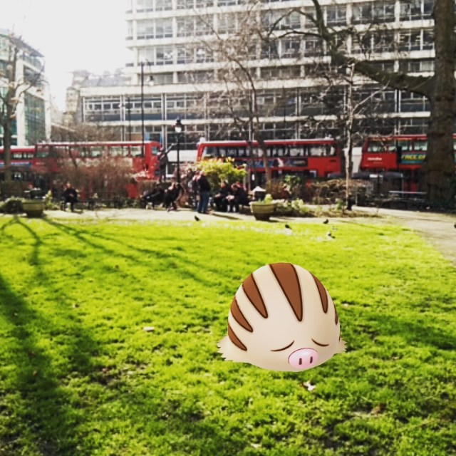 These porky-slugs were all over London today!