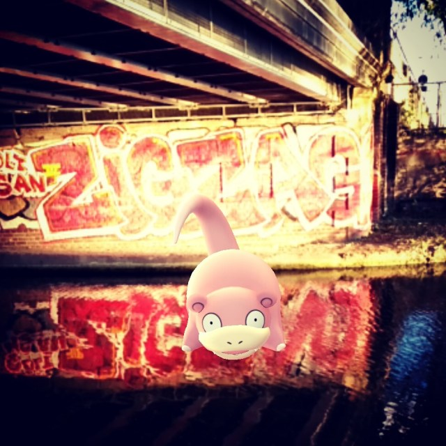 pink hippo liked street art before it was cool