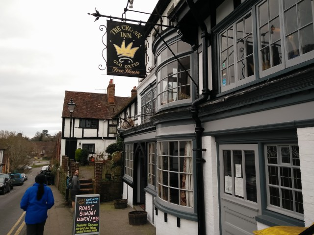 The Crown Inn in old Oxted