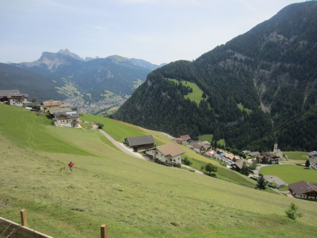 Looking down to Bulla/Pufels