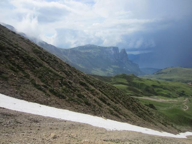 The end of Mt Schlen / Sciliar