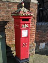 Harrow on the Hill has posh post boxes!