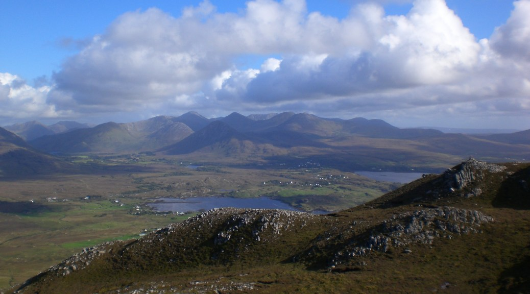 View of the Bens from Tully
