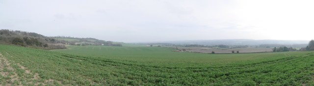 North Downs Way - Panorama section 5