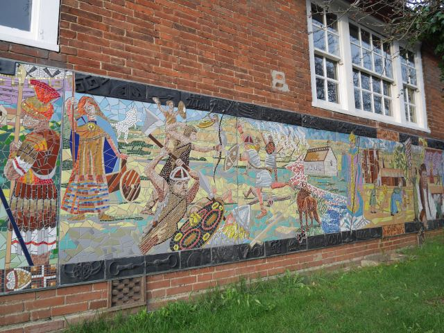 Otford Village history in mosaic