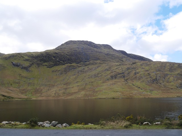The side of Benchoona from Lough Fee
