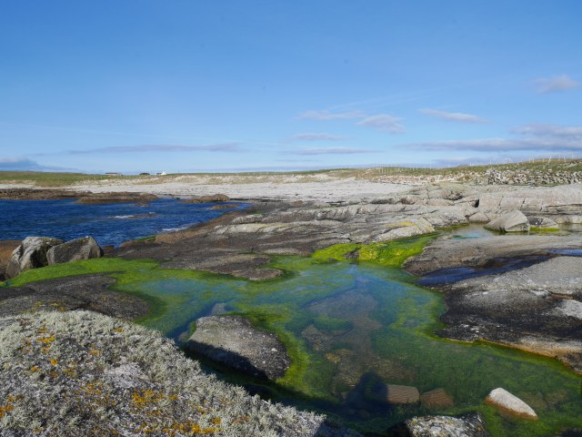 Rock pools at Aughrus More
