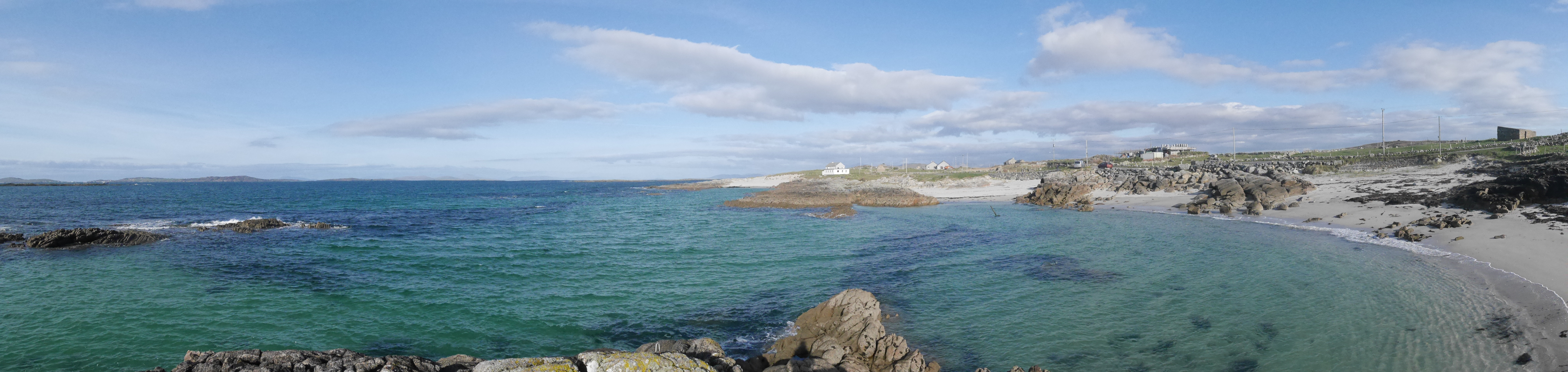 Aughrus Beg with gorgeous blue water!