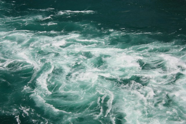 Whirlpools on the Niagara river