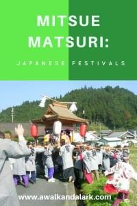 Japanese festivals - Mitsue matsuri