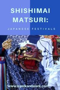 Japanese festivals - Shishimai matsuri