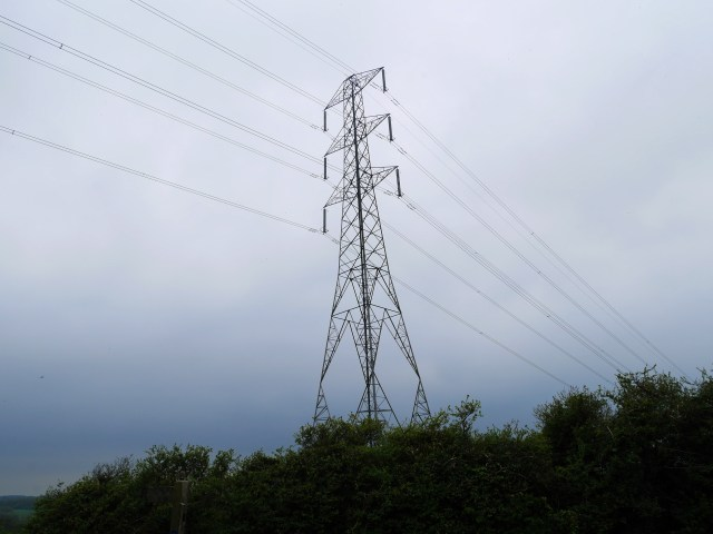 The buzzing, crackling pylon