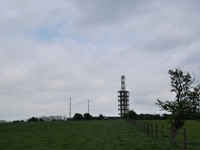 The ugly Tolsford Hill BT Tower