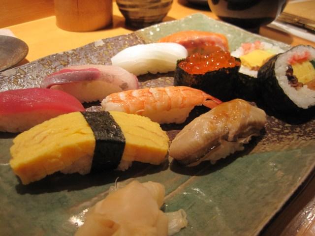 Just ordinary sushi.