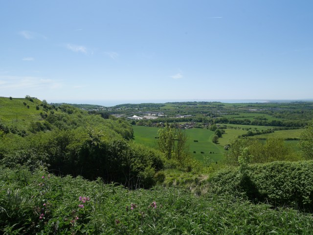 Looking towards Folkstone